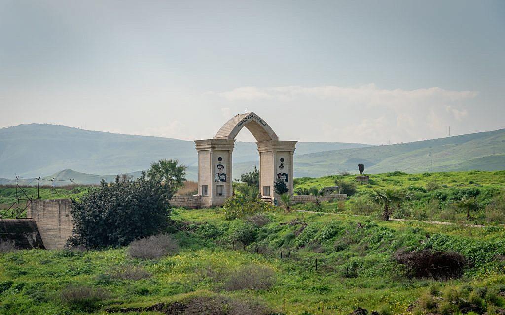 Le passage vers l'île de la Paix du côté jordanien, le 29 janvier 2019 (Crédit : Luke Tress/Times of Israel)