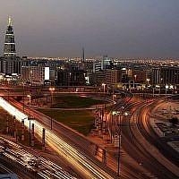 Une vue de la ville saoudienne de Ryad, en Arabie saoudite, le 9 février 2011 (Crédit : AP Photo/Hassan Ammar)