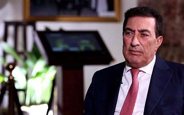 Le président du Parlement jordanien, Atef al-Tarawneh. (YouTubeà