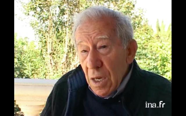 Albert Veissid (Crédit : capture d'écran Ina.fr)