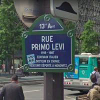 L'ancienne plaque de la rue Primo Levi, dans le XIIIe arrondissement de Paris. (Crédit : capture Google Maps)