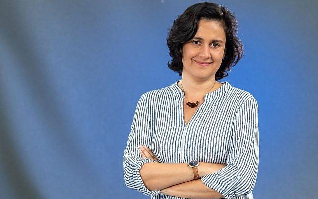 Kamila Shamsie, romancière pakistanaise britannique, au Festival international du livre d'Édimbourg, à Édimbourg, en Écosse, le 22 août 2018. (Roberto Ricciuti/Getty Images)
