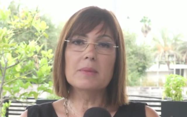 Sophie Ben-Dor (Capture d'écran : Douzième chaîne)