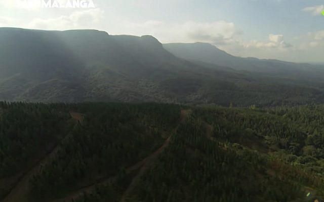 Capture d'écran d'une vidéo de Mpumalanga, en Afrique du sud (Capture d'écran : YouTube)