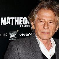 """Le réalisateur Roman Polanski lors d'une séance photo à la projection du film """"D'après une histoire vraie"""" à Paris, le 30 octobre 2017. (Photo AP / François Mori)"""