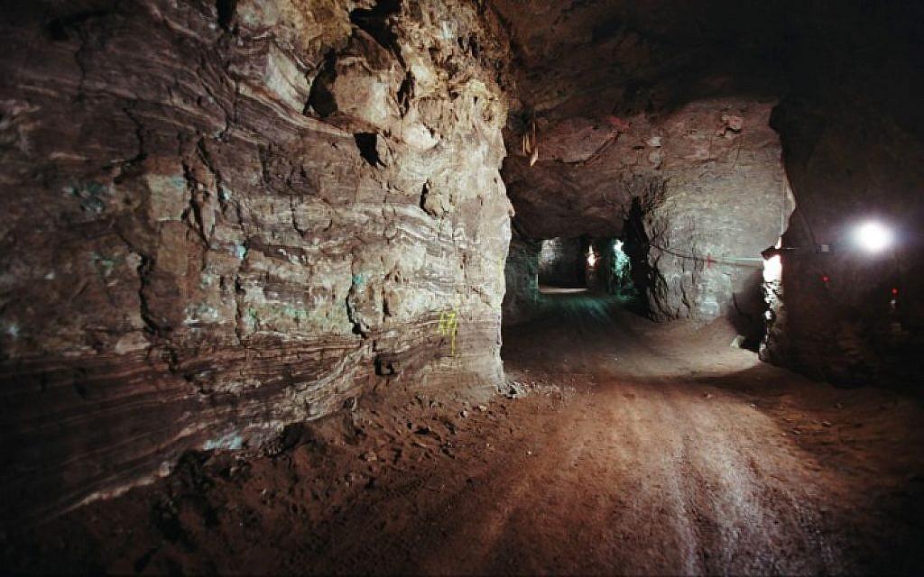 Mines de cuivre à Timna, 35 km au nord d'Eilat, mars 2007. (Doron Horowitz/Flash90)
