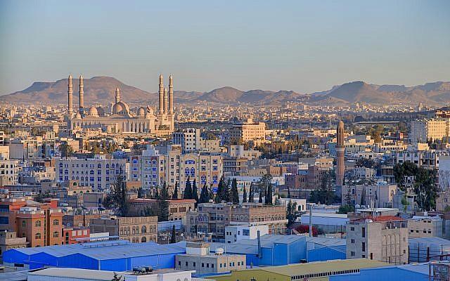 Sanaa, la capitale du Yemen, en 2015. (CC BY-SA Wikimedia Commons)