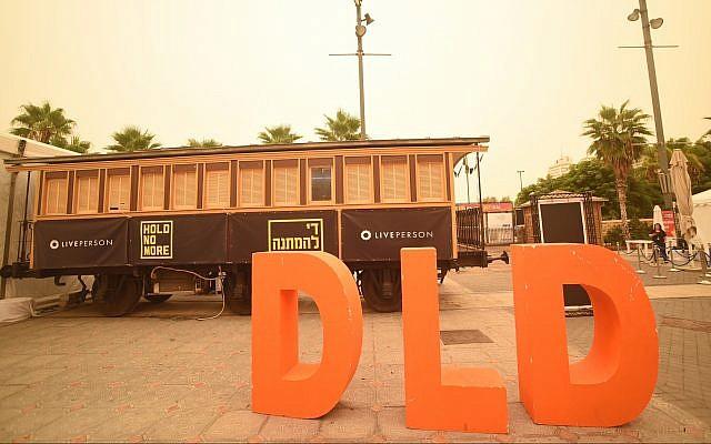 Tel Aviv DLD, une conférence annuelle de startup, a été lancée le 18 septembre, pour la neuvième fois. Plus de 100 délégations venues du monde entier participent à l'événement avec environ 4000 invités.  (Guy Yechiely)