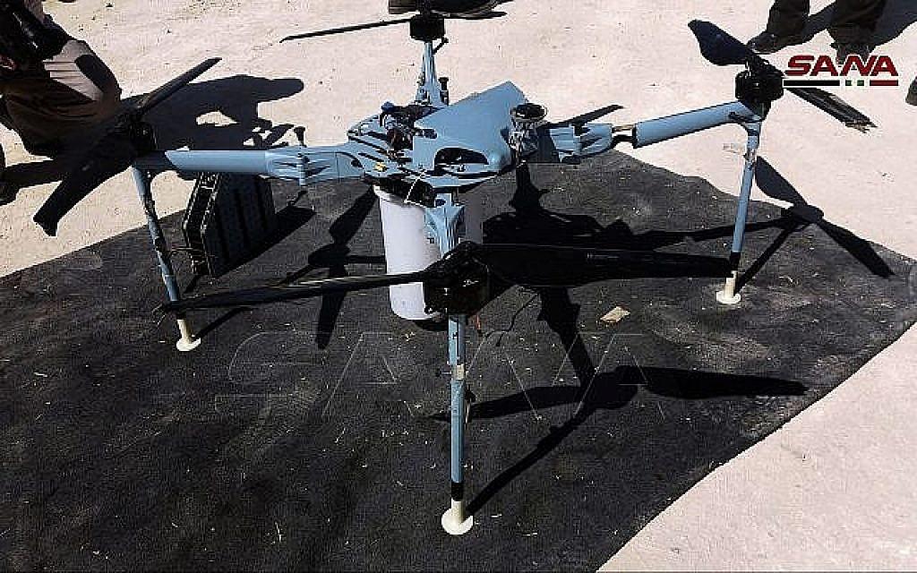 Tsahal : le drone armé capturé en Syrie près du Golan est iranien, pas israélien