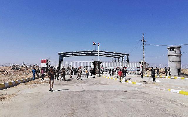 Un poste frontière repris à l'EI rouvre entre l'Irak et la Syrie