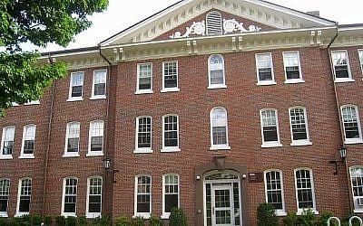 East Hall à l'université Tufts à Medford, Mass. (Wikimedia Commons via JTA)