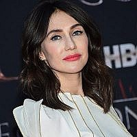 "L'actrice Carice van Houten participe à la première de la saison finale de ""Game of Thrones"" d'HBO au Radio City Music Hall, le 3 avril 2019 à New York. (Evan Agostini/Invision/AP)"