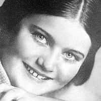 L'auteure du journal intime Renia Spiegel, née en 1924 et assassinée par les Nazis en 1942. (Renia Spiegel Foundation)