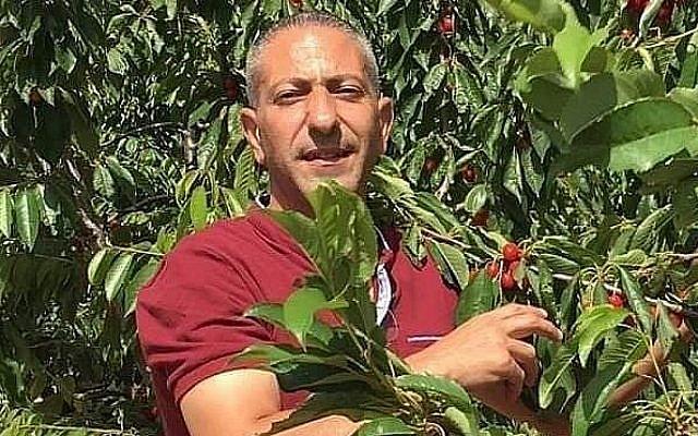 Samer Arbid, suspecté d'être le chef d'une cellule terroriste qui serait derrière l'attaque à la bombe ayant tué l'adolescente israélienne Rina Shnerb en août 2019, dans une photographie non datée. (Twitter)