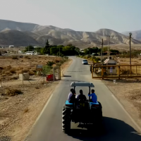 L'avant-poste de Mevo'ot Yericho dans la vallée du Jourdain en 2017. (Capture d'écran/YouTube)