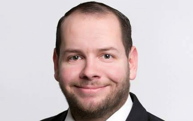 Stefan Jagsch, 29ans, membre du parti National démocrate allemand. (Crédit : Facebook)