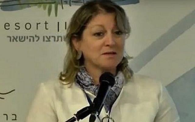 L'ancienne scientifique en chef au ministère de la Protection de l'environnement, Sinaia Netanyahu. (Capture d'écran de YouTube)