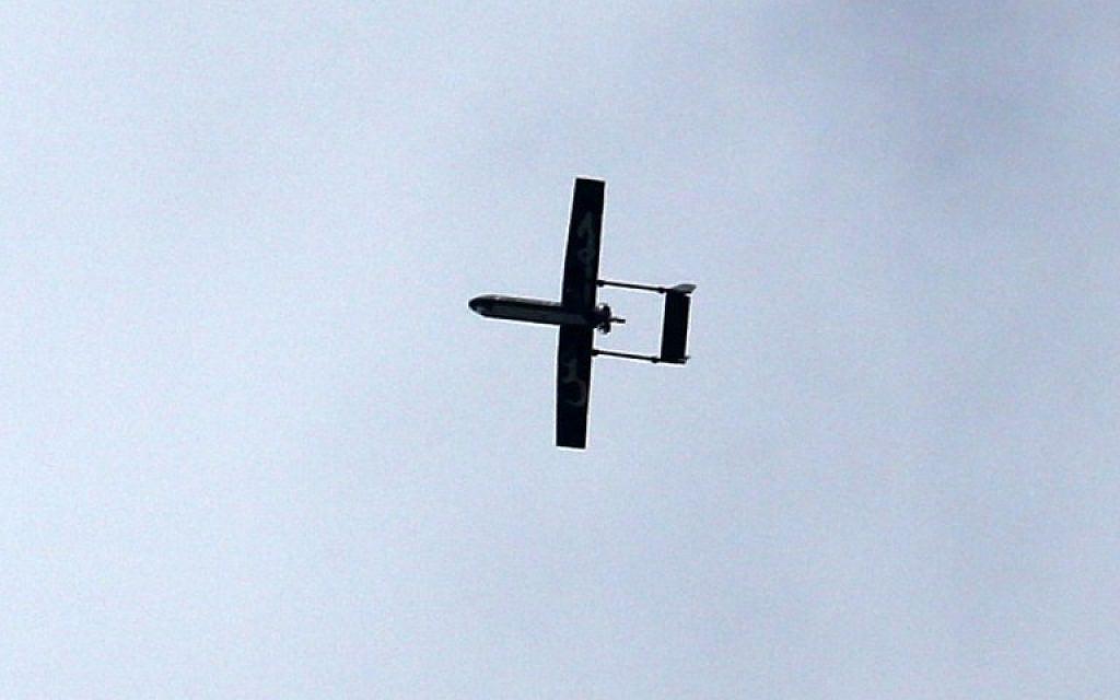 L'armée israélienne a abattu un drone en provenance de la bande de Gaza