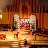 La Washington Hebrew Congregation, a une synagogue réformée à Washington DC. (Site internet de la Washington Hebrew Congregation)