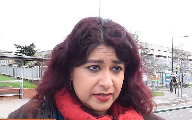 Aysha Raza, conseillère municipale pour le parti du Labour (Capture d'écran : YouTube)