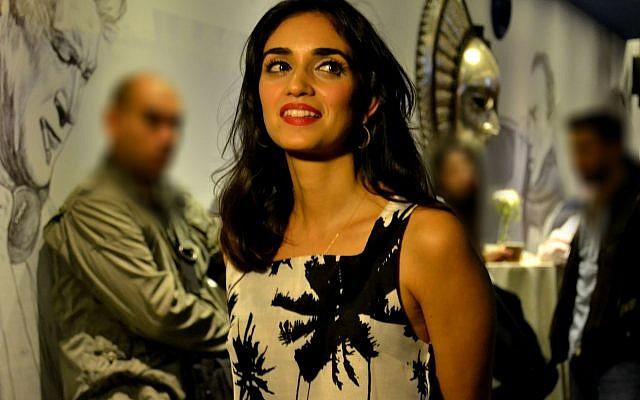 Liraz Charhi, la chanteuse israélienne d'origine iranienne. (Yairpae / Wikimedia / CC BY-SA 4.0)