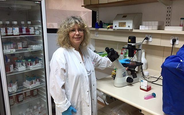 La Professeur Rina Rosin-Arbesfeld du Département de microbiologie et d'immunologie clinique de la Faculté de médecine de l'Université de Tel Aviv. (Crédit : Association française del'Université de Tel Aviv)