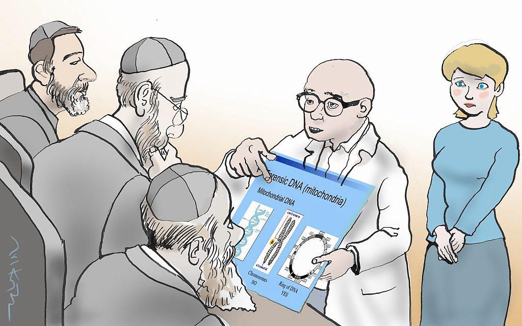 Illustration par Avi Katz. (Autorisation)