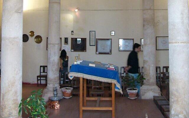 La synagogue Tomar à Tomar, au Portugal. (CC BY-SA 3.0, fulviusbsas, Wikipedia)