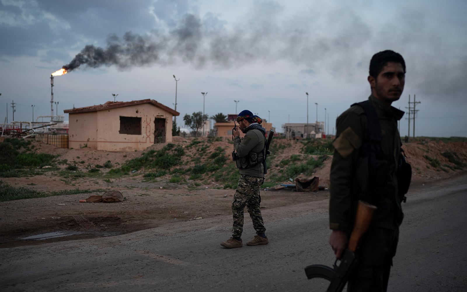 Renforts militaires américains dans l'est pétrolier — Syrie