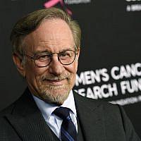 Le réalisateur Steven Spielberg au Wilshire Hotel, à Beverly Hills, Californie, le 28 février 2019. (Chris Pizzello/Invision/AP)