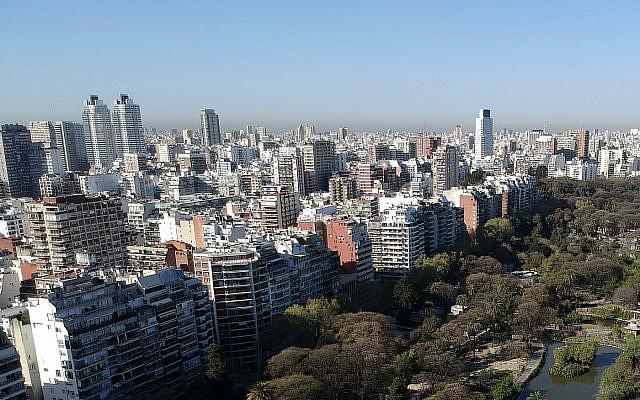 Une vue de Buenos Aires, Argentine, le 24 septembre 2019 (AP Photo/Natacha Pisarenko)