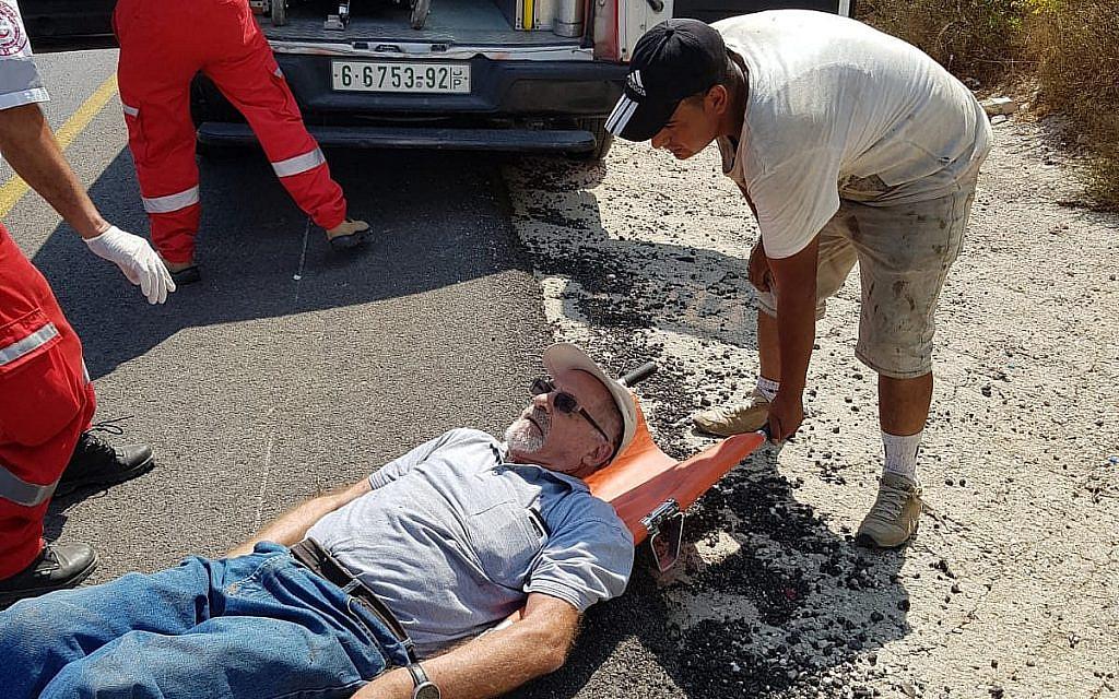 Des habitants d'implantations accusés d'avoir battu un rabbin âgé de 80 ans