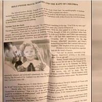 Un prospectus anti-sémite retrouvé sur un véhicule du New Jersey. (Capture d'écran / CBS Philly)