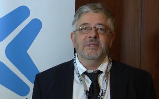 Roland Marchal en 2016. (Crédit : capture d'écran YouTube)