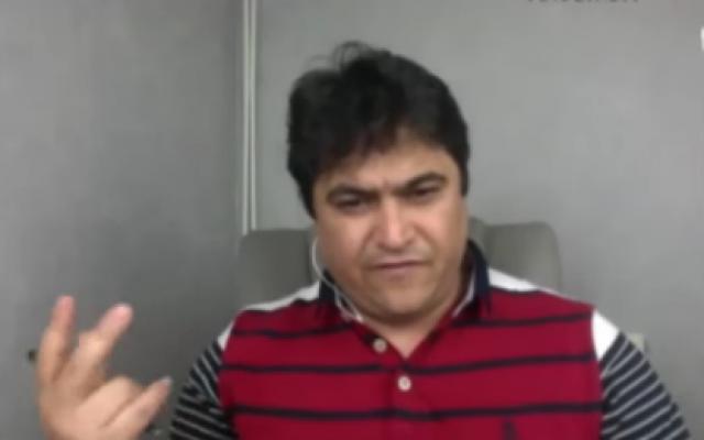 Ruholla Zam. (Capture d'écran : YouTube)