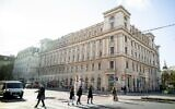 Le Palais Ephrussi, saisi par les nazis pendant la Seconde Guerre mondiale, à Vienne, en Autriche, le 7 novembre 2019. (Crédit : JOE KLAMAR / AFP)