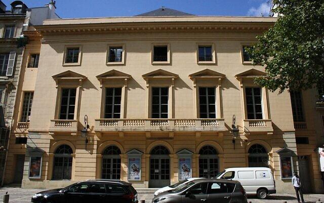 Façade du théâtre (rénovée en 2008). (Crédit : Lionel Allorge / Wikimédia / CC BY-SA 3.0)