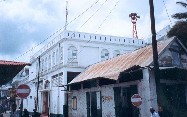 La Grande Mosquée de Port Louis, à l'île Maurice. (Crédit : FC Georgio / Wikimedia / CC BY SA 3.0)
