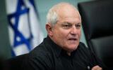 Haim Katz prend la parole à la Knesset, le 5 mars 2018. (Yonatan Sindel/Flash90)