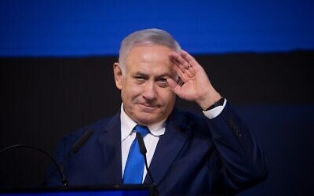 Le Premier ministre Benjamin Netanyahu. (Yonatan Sindel/Flash90)