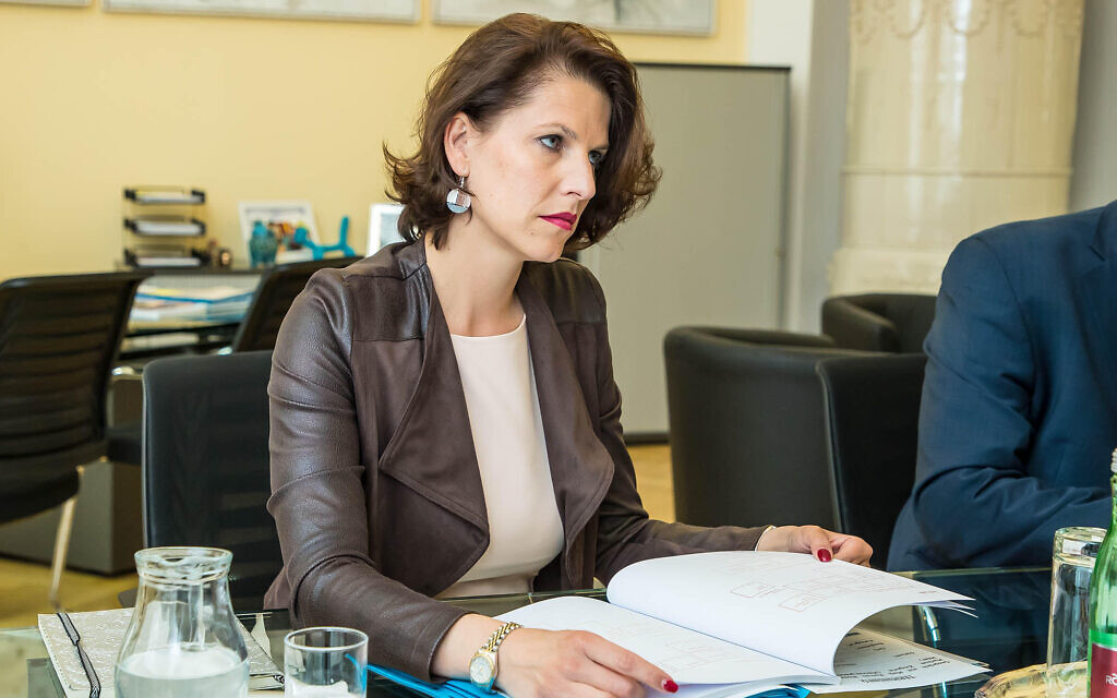 Karoline Edtstadler, députée au Parlement européen. (Gerd Pachauer/BMI)