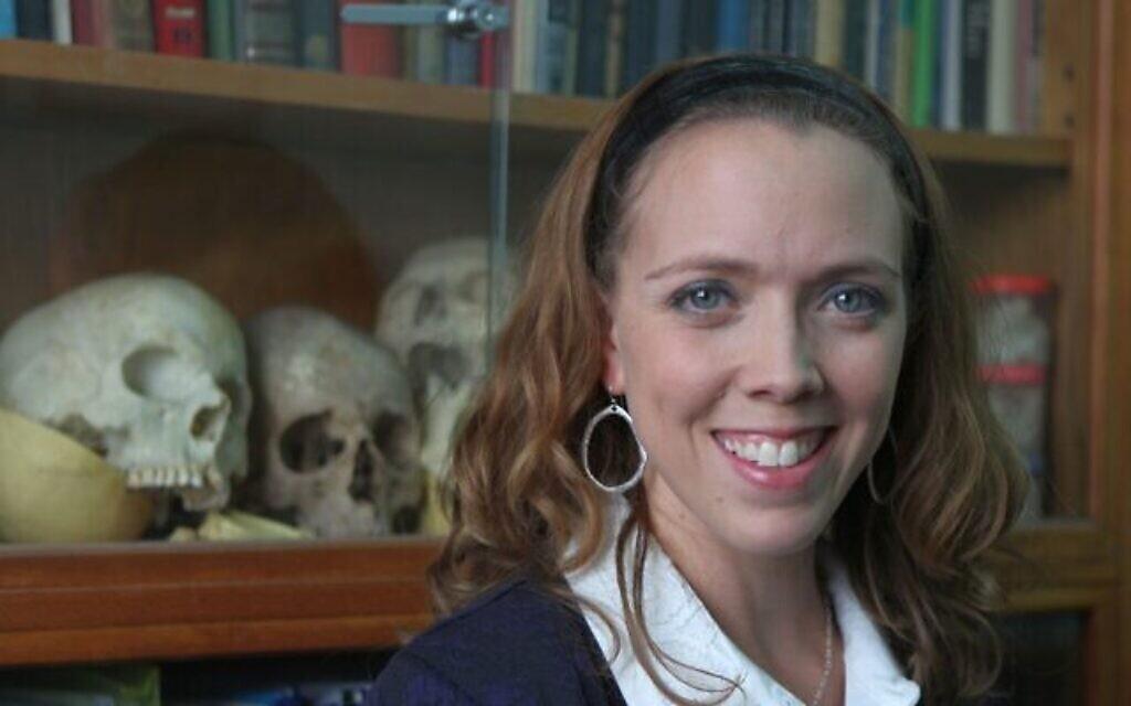La docteure à l'université de Tel Aviv Rachel Sarig.(Crédit : Bureau du porte-parole de l'Université de Tel Aviv)
