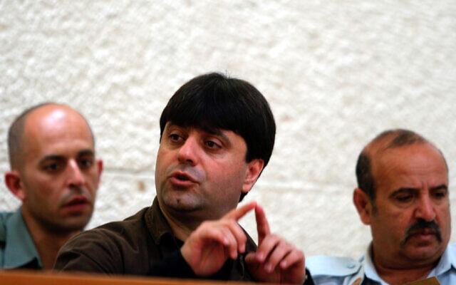 Ofer Maximov assiste à une audience à la Cour suprême, le 9 novembre 2004. (Flash90)