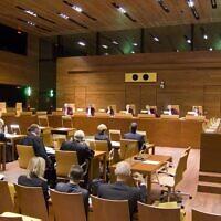 Illustration - la Cour de justice de l'Union européenne. (Crédit : UE)