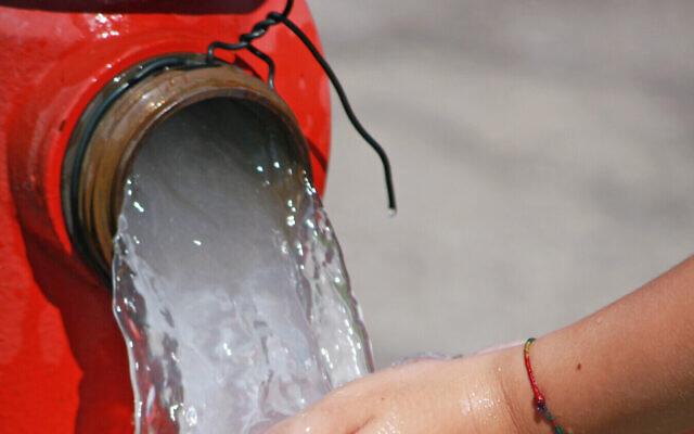 De l'eau s'écoule d'une bouche d'incendie. (Crédit : ChiccoDodiFC iStock by Getty Images)