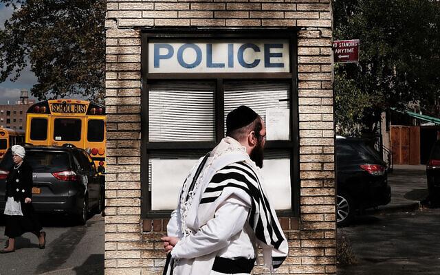 Les incidents antisémites à New York City ont significativement augmenté cette semaine (Crédit : Spencer Platt/Getty Images/via JTA)