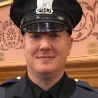 Le détective Joseph Seals tué lors de la fusilalde Jersey City, le 10 décembre 2019. (Crédit : Jersey City Police Officers Benevolent Association via JTA)