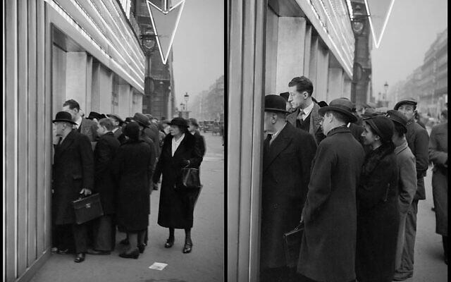 Sélection de 2 prises de vues d'après bandes négatives originales 35 mm numérisées.© Ministère de la Culture - Médiathèque de l'architecture et du patrimoine, Dist. RMN-Grand Palais / André Kertész