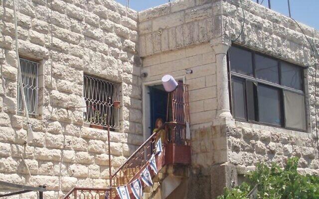 La Maison Bakri à Hébron. (La Paix maintenant)