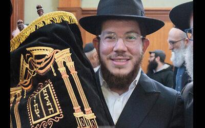 Rabbi Yossi Bialo. (Autorisastiojn)
